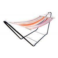 CHILLOUNGE® Sunrise - Hamac à barres simple avec support en acier revêtu par poudre
