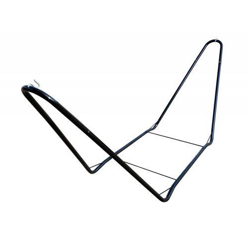 CHILLOUNGE® Black - Support en acier revêtu par poudre pour hamacs simples