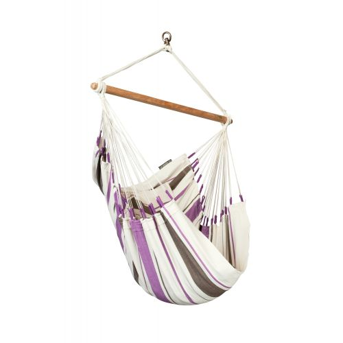 Caribeña Purple - Chaise-hamac basic en coton