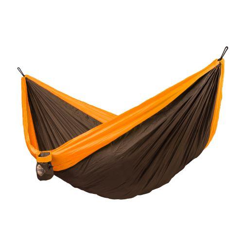 Colibri Orange - Hamac de voyage double avec fixation