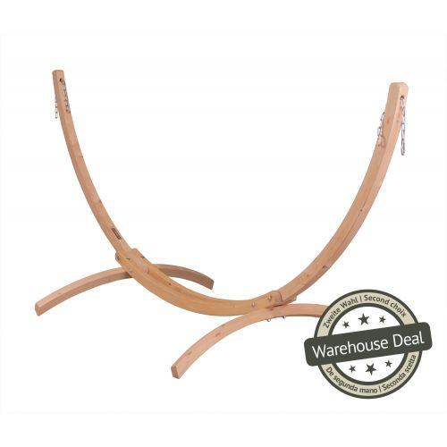 Canoa Caramel - Support en épicéa certifié FSC™ pour hamacs simples
