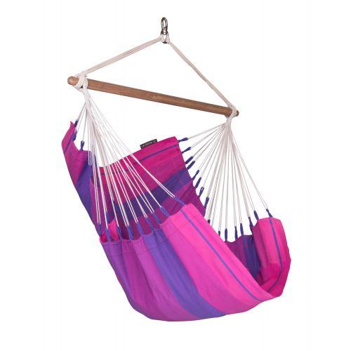 Orquídea Purple - Chaise-hamac basic en coton