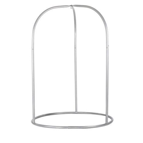 Romano Silver - Support en acier revêtu par poudre pour chaise-hamacs basic ou lounger
